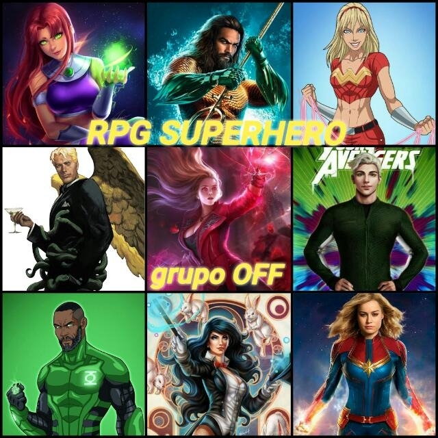 RPG SUPERHERO/OFF - Grupos de WhatsApp